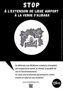 Affiche stop alibaba&co nuissances