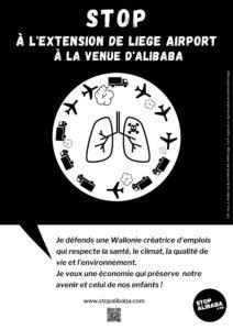 Affiche stop alibaba&co santé Santé
