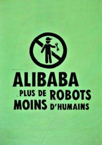 Affiche Plus de robot moins d'humains 2