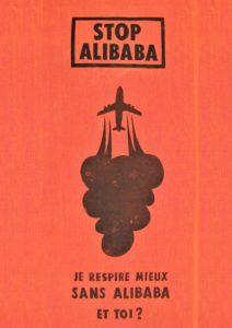 Affiche Je respire mieux sans Alibaba
